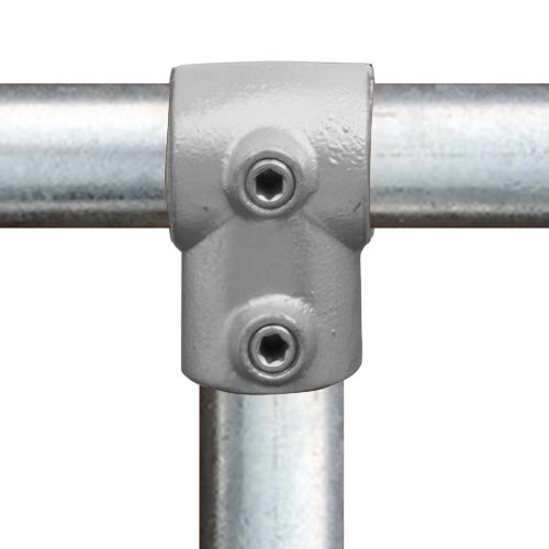 Buiskoppeling Kort T-stuk-E / 48,3 mm