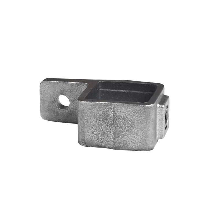 Buiskoppeling Oogdeel enkele lip - vierkant-25 mm
