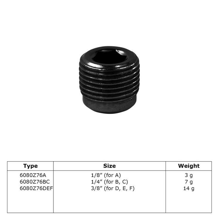 Buiskoppeling Stelschroef (zwart)-BC / 26,9 mm en 33,7 mm