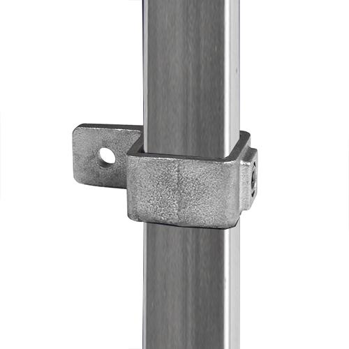 Buiskoppeling Oogdeel enkele lip - vierkant-40 mm
