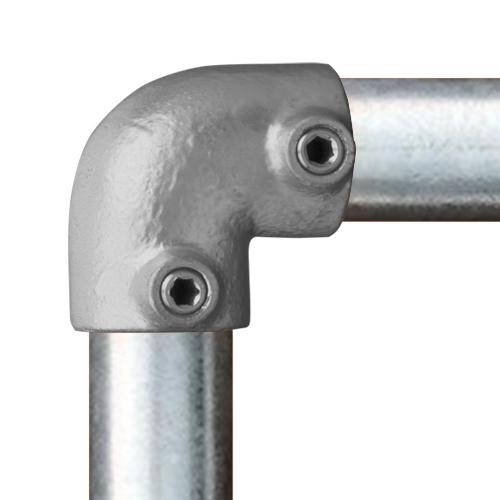 Buiskoppeling Kniestuk 90°-E / 48,3 mm