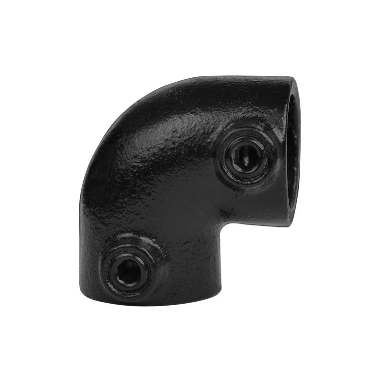 Doos Kniestuk 90° - zwart-A / 21,3 mm