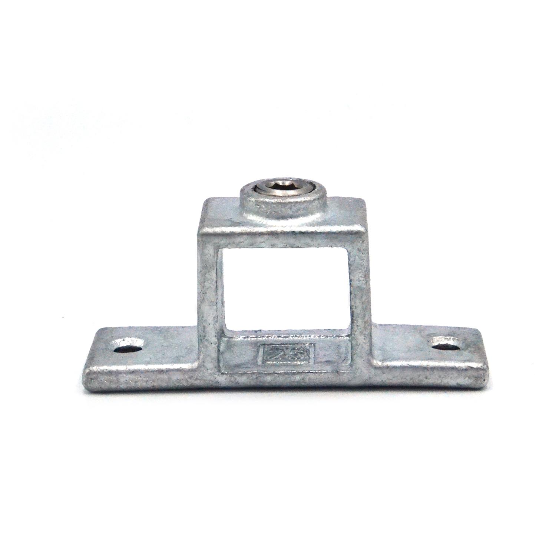 Buiskoppeling Oogdeel dubbel lip - vierkant-25 mm
