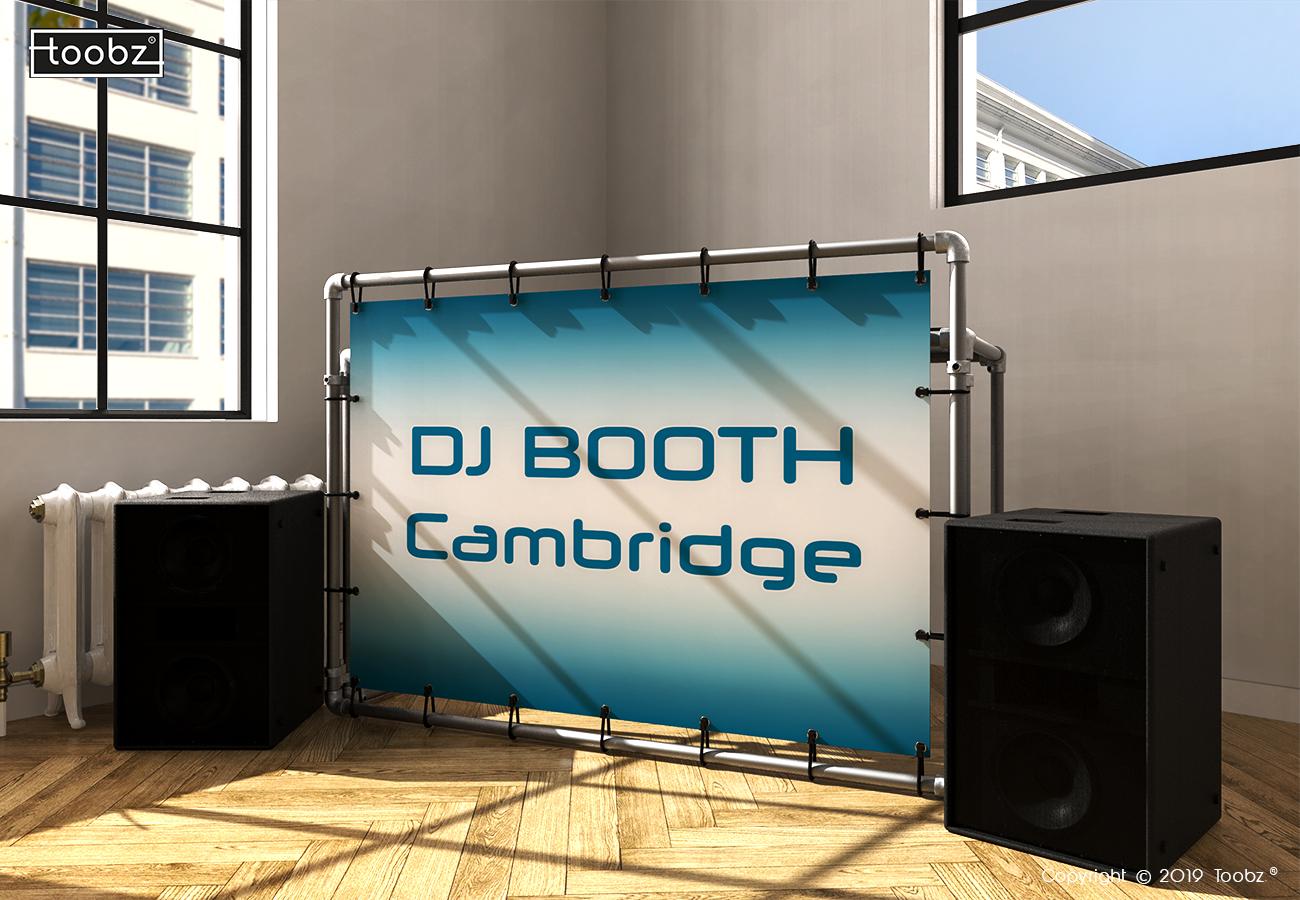 DJ Booth Cambridge: 33,7mm