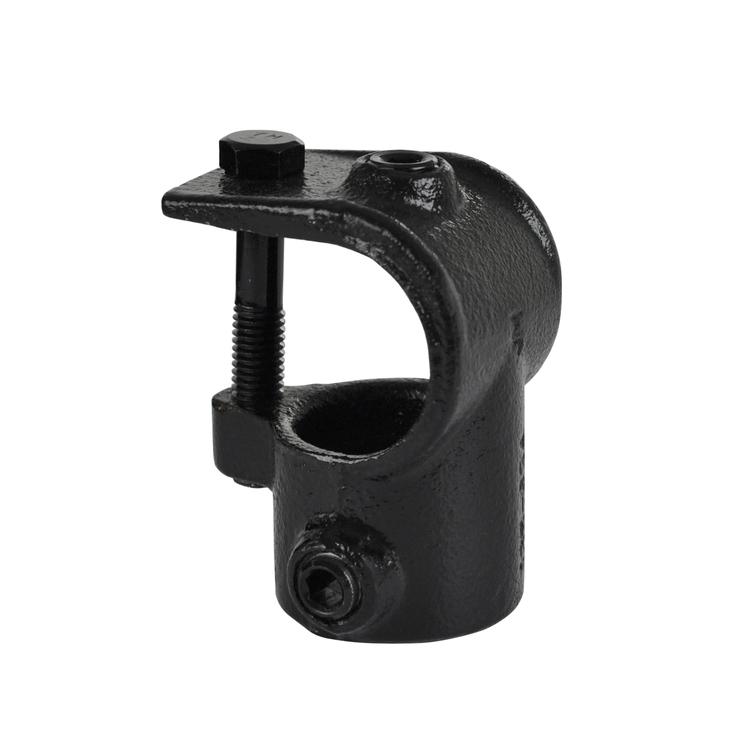 Doos Open T-stuk - zwart-D / 42,4 mm