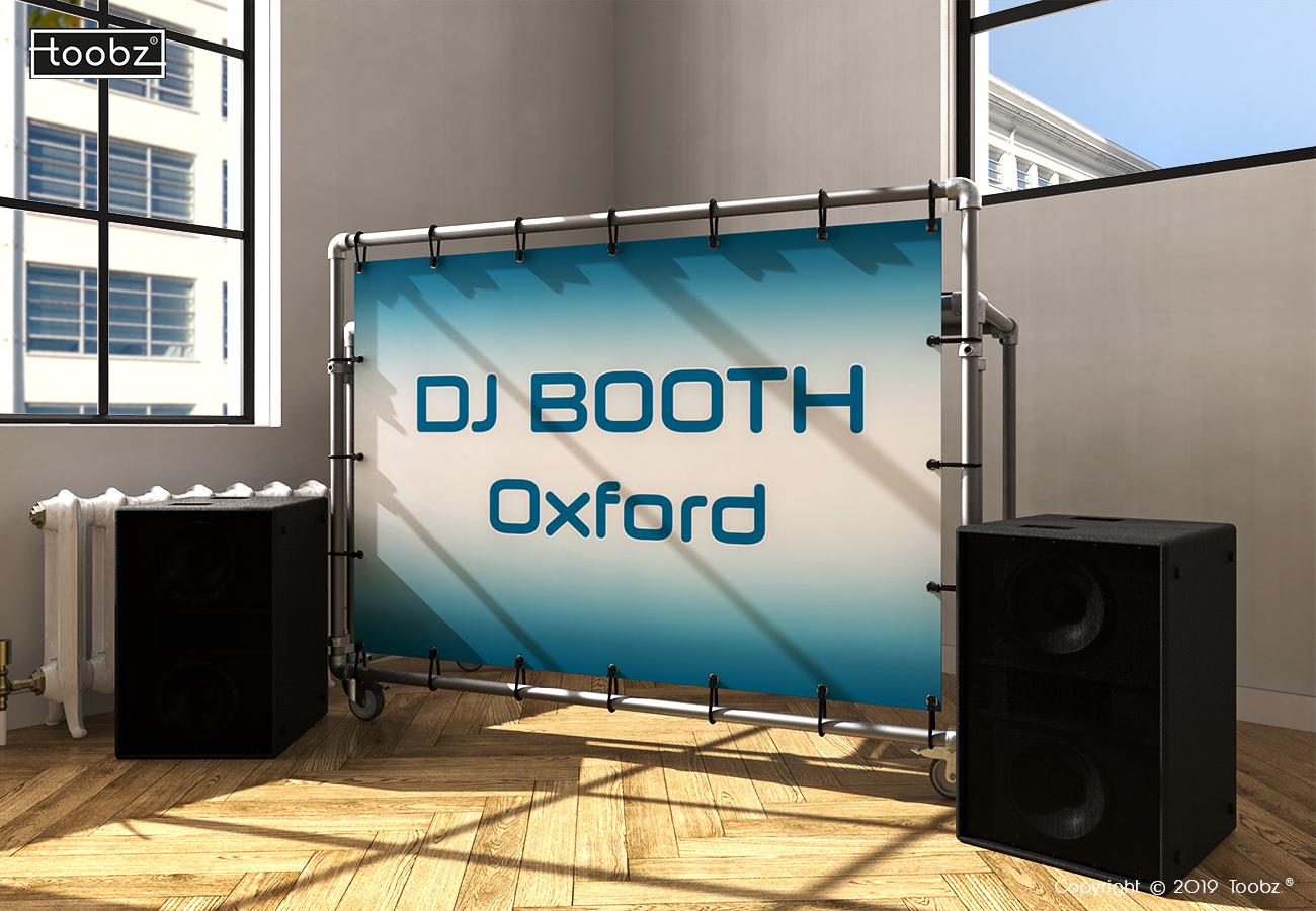 DJ Booth Oxford: 33,7mm