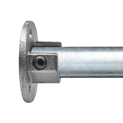 Doos Ronde voetplaat met inleg (set)-C / 33,7 mm