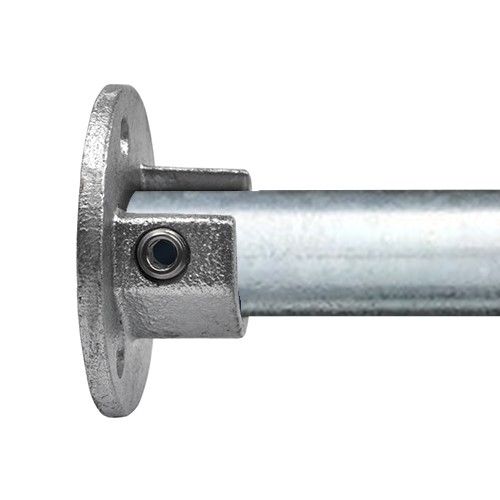 Doos Ronde voetplaat met inleg (set)-B / 26,9 mm