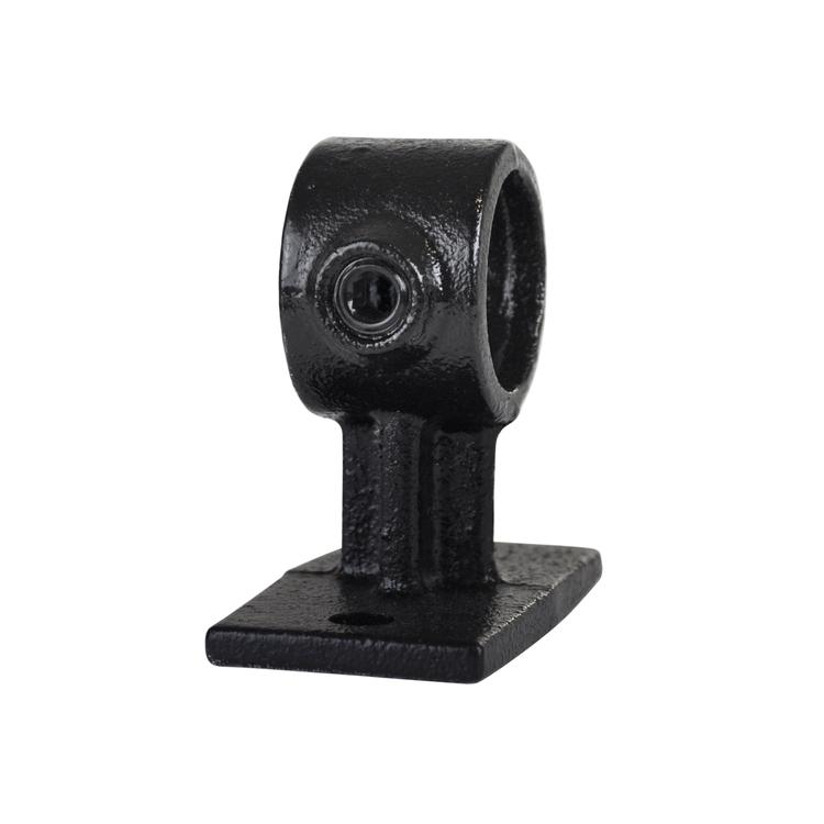 Doos Leuningdrager - zwart - A / 21,3 mm