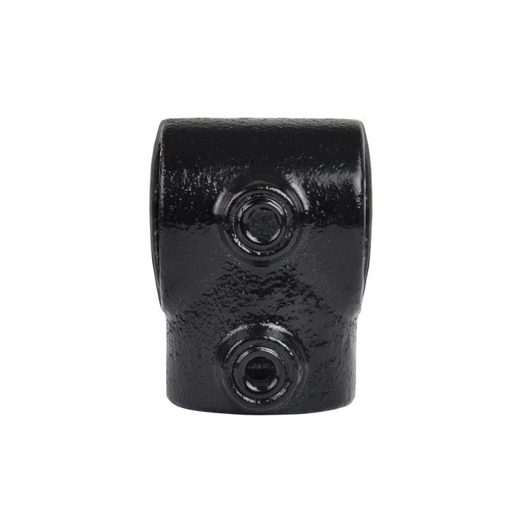 Doos Kort T-stuk - zwart-A / 21,3 mm