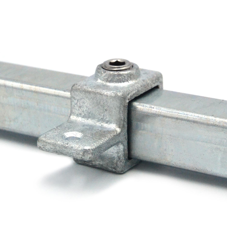 Buiskoppeling Oogdeel scharnierstuk - vierkant