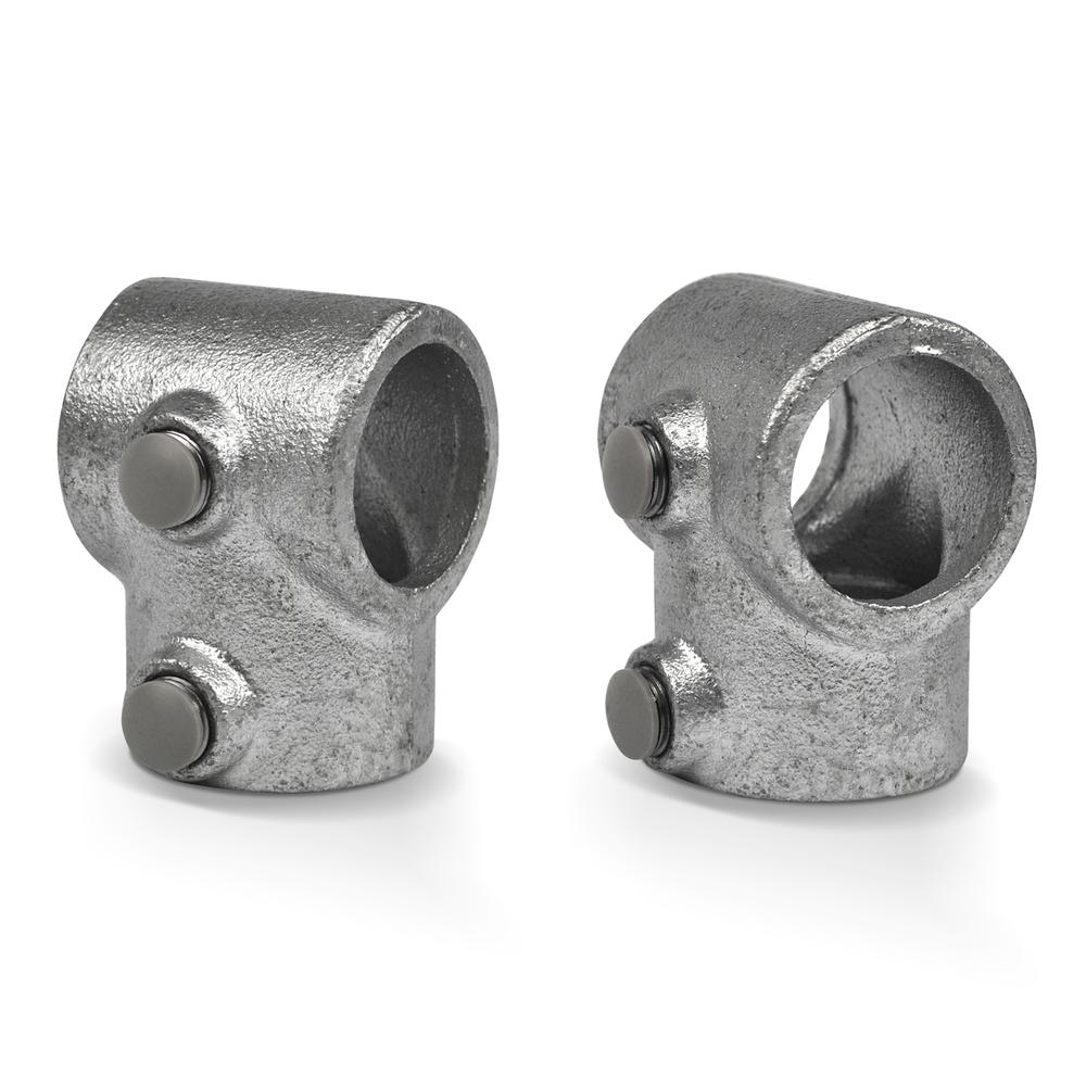 Afdekdop grijs t.b.v. stelschroef-DEF / 42,4 mm, 48,3 mm en 60,3 mm